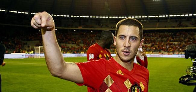 Foto: Hazard laat zich uit over kans dat hij ooit in Jupiler Pro League speelt