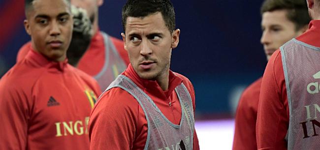 Foto: Hazard heeft nog grote ambities met Rode Duivels:
