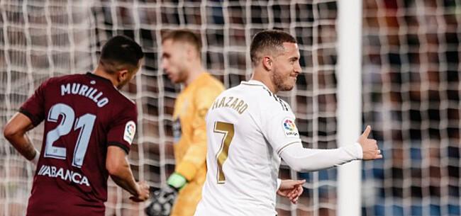Foto: Ondanks bevredigende comeback Hazard laat Real dure punten liggen