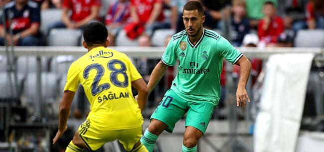 Foto: Real Madrid poetst blazoen op, Hazard opnieuw ontgoochelend