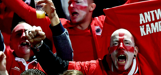 Foto: 'Antwerp-fans nemen gigantisch risico voor wedstrijd op Club'