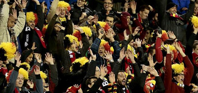 Foto: België speelt allerminst voor uitverkocht stadion tegen Rusland