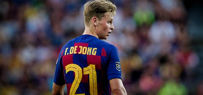 Foto: Zaakwaarnemer De Jong ontkracht rel met Messi: