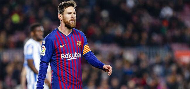 Foto: 'FC Barcelona vreest clausule in contract van Lionel Messi'