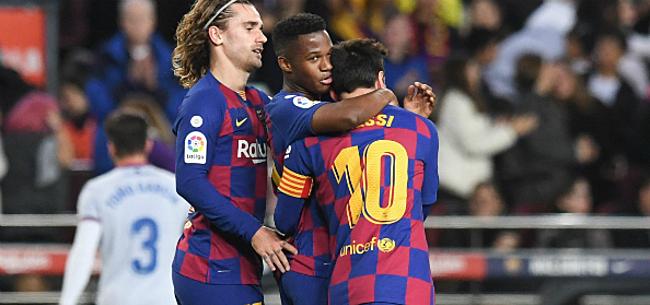 Foto: 'Barça krijgt twee weken om nieuwe spits te vinden'