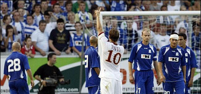 Foto: AS Roma in België: 1-7 bij AA Gent, verlies bij Club en Union SG
