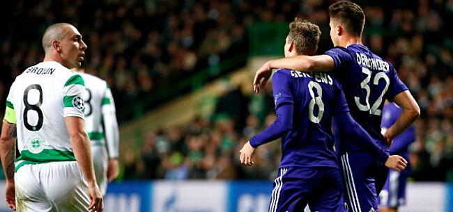 Foto: Anderlecht stopt na 2 jaar dramatische Belgische reeks in Champions League