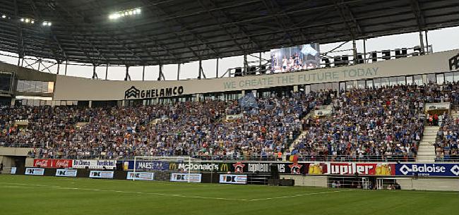 Foto: AA Gent slaat fors terug na klacht 'Club-supporters'