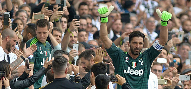 Foto: Zo neemt Juventus afscheid van Buffon (VIDEO)