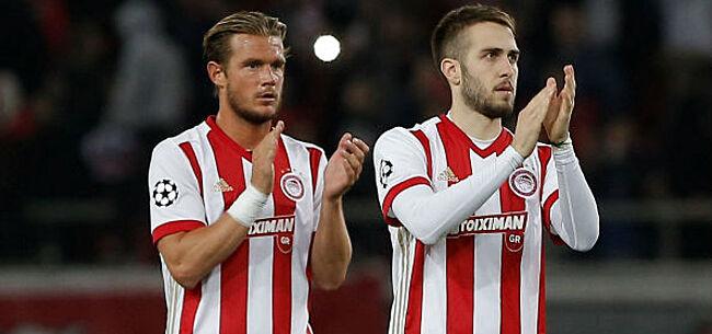 Foto: Gillet blikt terug op moeilijke periode bij Olympiakos: