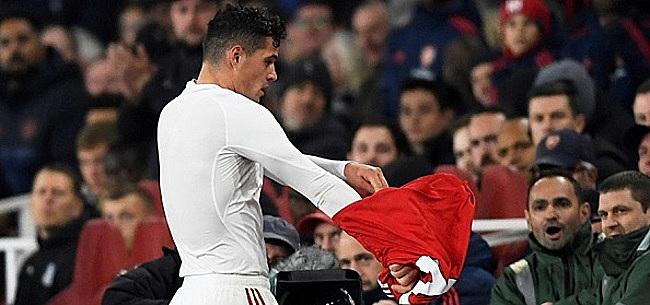 Foto: Zondaar Xhaka komt met reactie tegenover Arsenal-fans