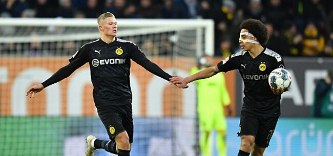 Foto: Dortmund wint ruim, Haaland valt in en treft twee keer raak