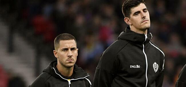 Foto: Vandereycken duidelijk over Hazard en Courtois in Spaanse pers