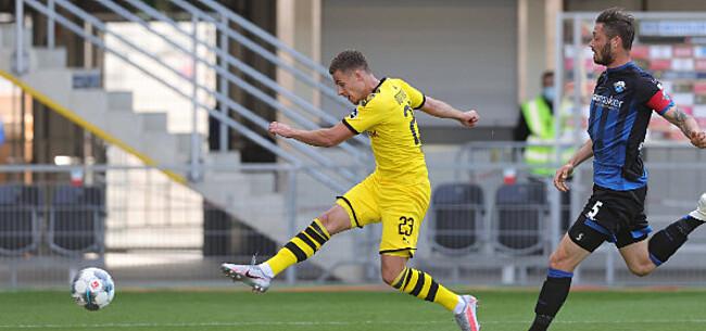 Foto: Hazard zorgt met goal en assist voor zeer ruime zege van Dortmund
