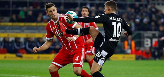 Foto: Thorgan Hazard doet wat 'Teo' niet kan: scoren tegen Bayern (video)