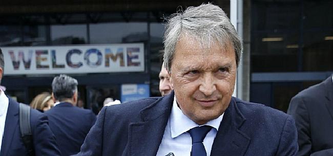 Foto: Van Holsbeeck kan sneer naar Club Brugge niet laten