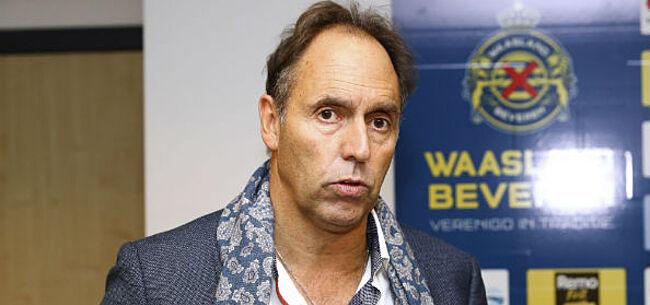Foto: OFFICIEEL: Waasland-Beveren heeft zijn nieuwe trainer beet