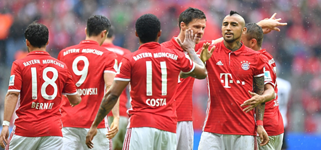 Foto: Bayern vlot door, Dortmund met moeite