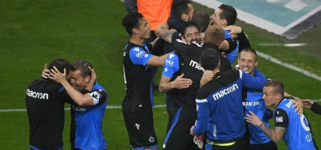 Foto: Club Brugge komt met info over tweede titelfeest