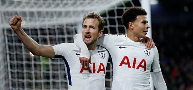 Foto: Kane breekt nog een record en loodst Tottenham naar vlotte zege