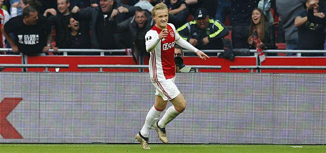 Foto: Dolberg dan toch niet van Ajax naar OGC Nice?