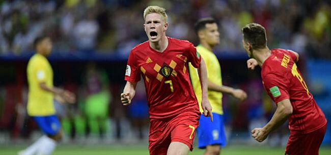 Foto: België brak tegen Brazilië alvast zijn eigen WK-record