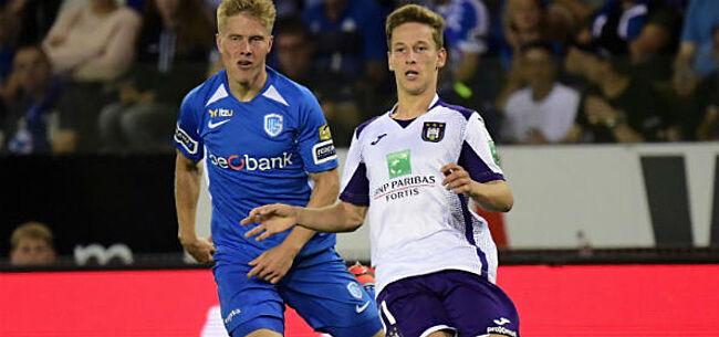 Foto: KRC Genk en Anderlecht grote verliezers bij stopzetting competitie