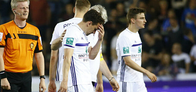 Foto: Ravage Anderlecht blijft niet beperkt tot nederlaag in Gent