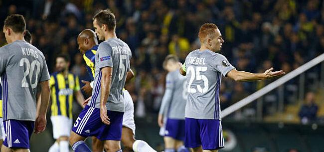 Foto: Anderlecht en Fenerbahçe bakken er niks van: