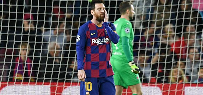 Foto: Messi & co hard aangepakt na afstotelijk gedrag: