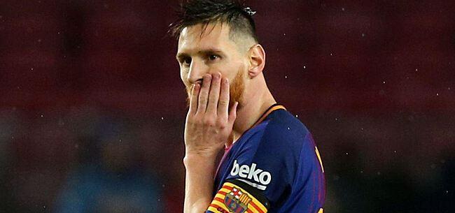 Foto: Messi choqueert: