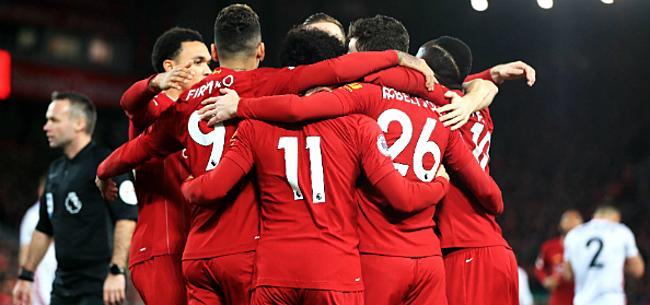Foto: Liverpool komt met de schrik vrij en pakt drie punten op Tottenham