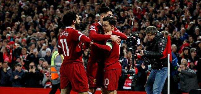 Foto: Liverpool vernedert Spartak, Sevilla naar volgende ronde