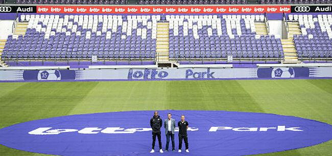 Foto: Anderlecht keert terug naar 'Het Park':