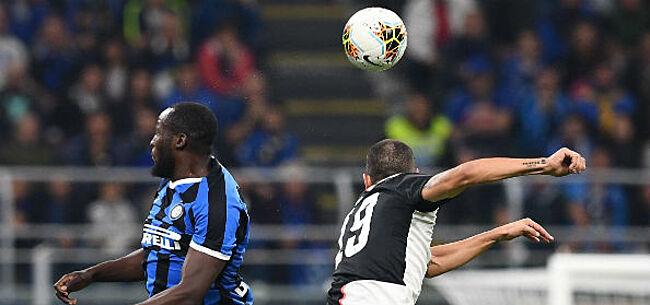 Foto: Conte neemt het op voor Lukaku: