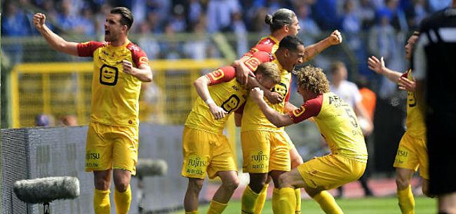 Foto: AA Gent grijpt naast Europees voetbal, KV Mechelen wellicht naar de groepsfase