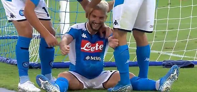 Foto: Mertens verklaart opvallende viering bij doelpunten