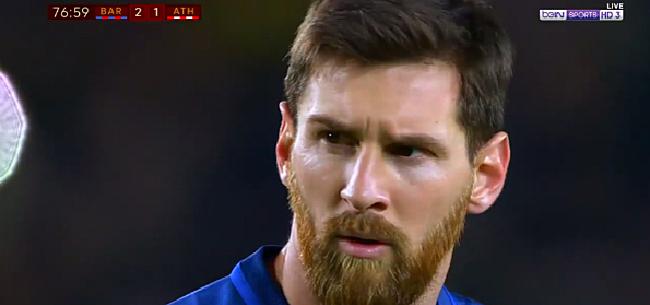Foto: VIDEO: Messi stelt orde op zaken met doelpunt van de avond