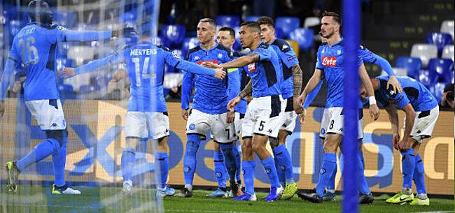 Foto: Kwakkelend Napoli verrast Juventus en houdt titelstrijd spannend