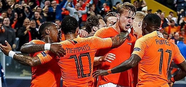 Foto: 'Oranje naar EK 2020 met zeer opvallend nieuw shirt'