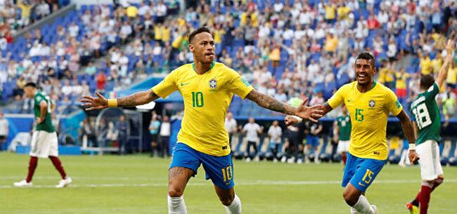 Foto: Neymar weer eventjes de held: