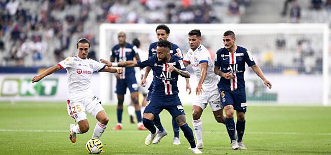 Foto: PSG wint na strafschoppen ligabeker ten koste van Lyon