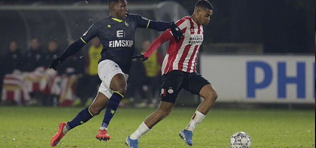 Foto: Brugse huurling blijft indruk maken en schiet Jong PSV naar overwinning