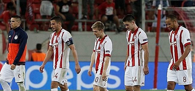 Foto: Olympiacos stelt Belgische aanvaller voor