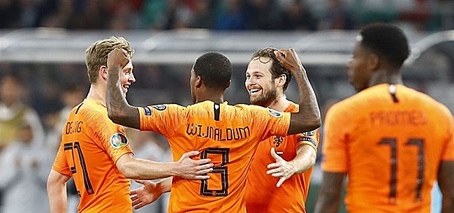 Foto: Oranje maakt indruk:
