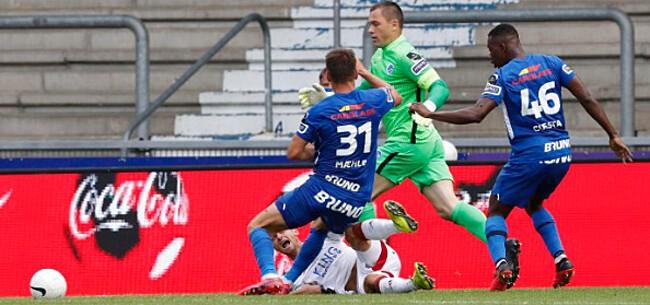 Foto: Vlietinck reageert gevat op betwiste penaltyfase OHL