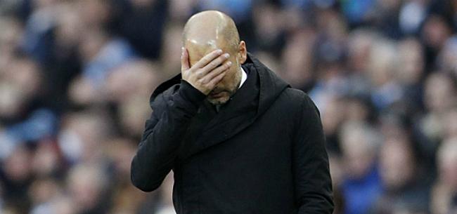 Foto: Guardiola onder vuur: