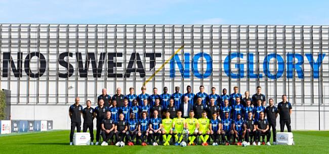 Foto: 'Club Brugge geeft geloof in eigen jeugd nog niet op'