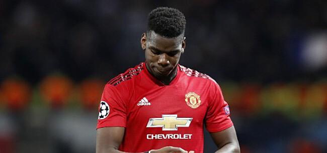 Foto: 'United trapt Pogba tegen de schenen met transferdeadline'