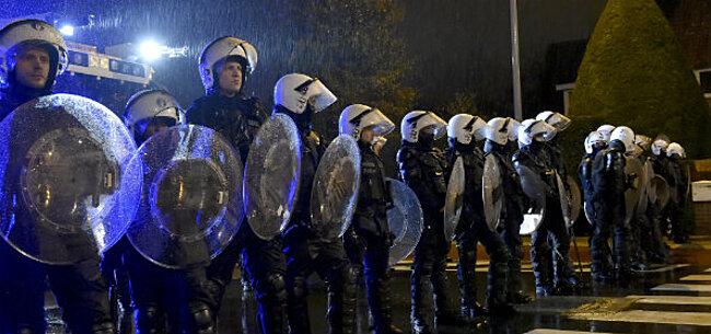 Foto: Brugse politie voorbereid: Ook hooligans bij België-Japan?